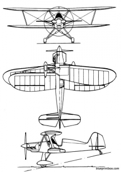 stolp starlet model airplane plan