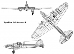 stormovik 3v model airplane plan