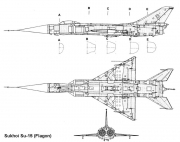 su15 2 3v model airplane plan