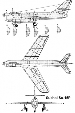 su15p 3v model airplane plan