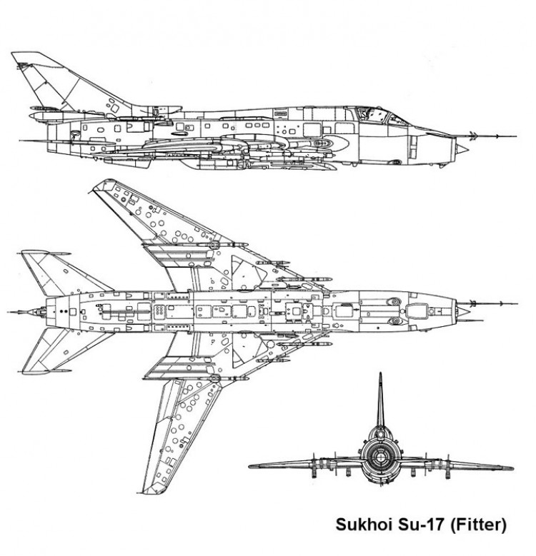 su17 2 3v model airplane plan