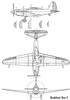 su1 3v model airplane plan