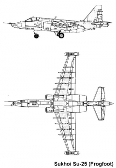 su25 2 3v model airplane plan