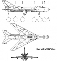 su7bm 2 3v model airplane plan