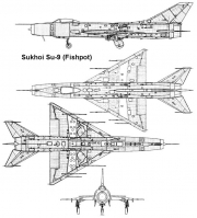 su9 3v model airplane plan