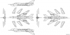 su 22m4 model airplane plan