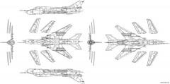 su 22m4 model airplane plan