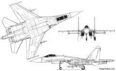 su 27 flanker 2 model airplane plan