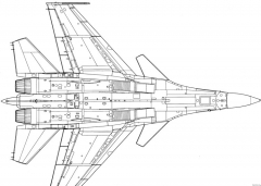 su 27 kub 4 model airplane plan