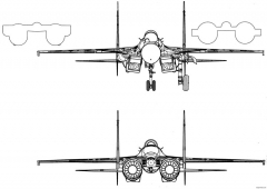 su 33 2 model airplane plan