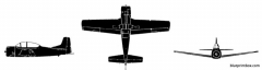 sud aviation fennec model airplane plan