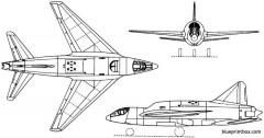 sud est se2410 grognard 1950 france model airplane plan