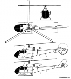 sudaviation sa 340 model airplane plan