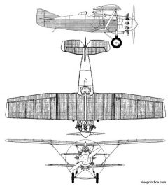 sukhoi i 4 model airplane plan