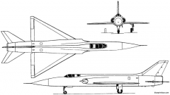 sukhoi p 1 1958 russia model airplane plan