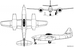 sukhoi su 11 i 1947 russia model airplane plan