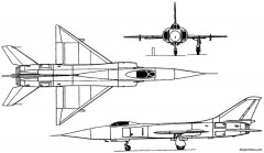 sukhoi su 15 1962 russia model airplane plan