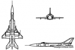 sukhoi su 15 flagon model airplane plan
