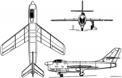 sukhoi su 15 i 1949 russia model airplane plan