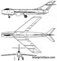 sukhoi su 17 1949 model airplane plan