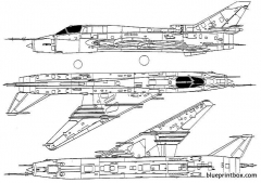 sukhoi su 22m fitter j model airplane plan