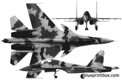 sukhoi su 30 model airplane plan