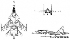 sukhoi su 35 flanker model airplane plan