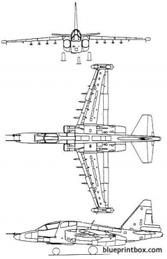sukhoi su 39 model airplane plan