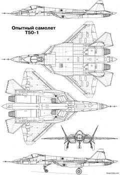 sukhoi su 50 model airplane plan