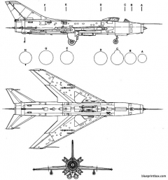 sukhoi su 7bm fitter 2 model airplane plan