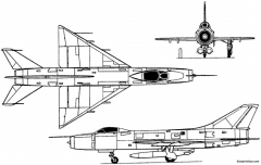 sukhoi su 9 ii 1956 russia model airplane plan