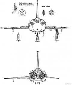 sukhojj su 15 3 model airplane plan