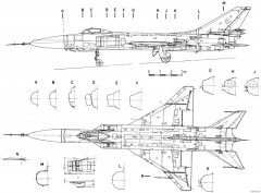 sukhojj su 15 4 model airplane plan