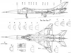 sukhojj su 15 4 model airplane plan
