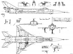 sukhojj su 15 5 model airplane plan
