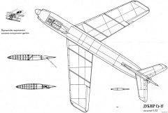 sukhojj su 15 pervejj 3 model airplane plan