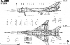 sukhojj su 15tm 2 model airplane plan