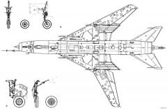 sukhojj su 17 3 model airplane plan
