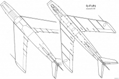 sukhojj su 17 pervejj model airplane plan