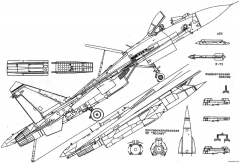 sukhojj su 27k su 33 model airplane plan