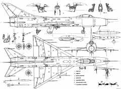 sukhojj su 9 2 model airplane plan