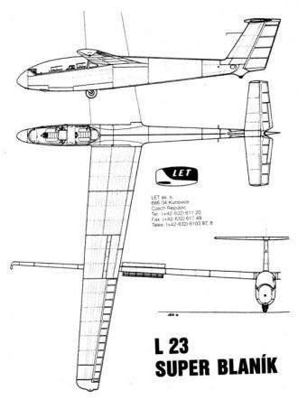 superblanik 3v model airplane plan