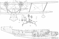 supermarine stranraer 03 model airplane plan