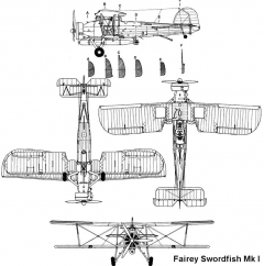 swordfish1 3v model airplane plan