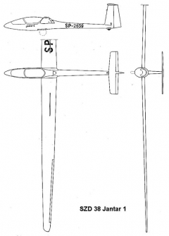 szd38 3v model airplane plan