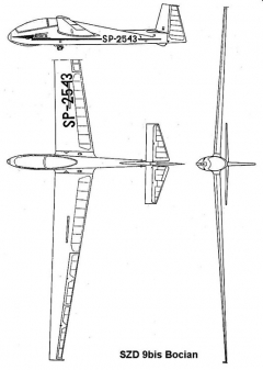 szd9 3v model airplane plan