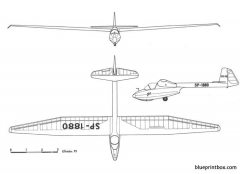 szd 16 gil model airplane plan
