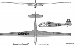 szd 22 mucha standard model airplane plan