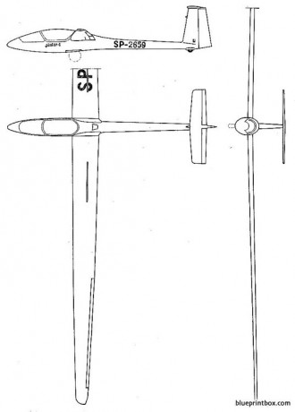 szd 38 jantar 1 model airplane plan