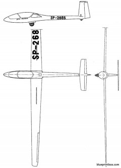 szd 41 jantar standard model airplane plan